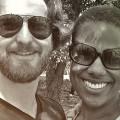 Travis Drake and Esther Adams